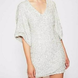 Free People Party Girl sequin Mini Dress